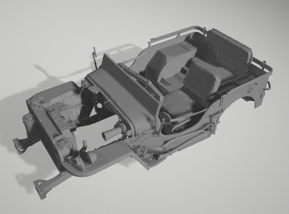 Jeep Willys en résine 3D au 1/24 et au 1/12 avec épave - Page 2 Captur14