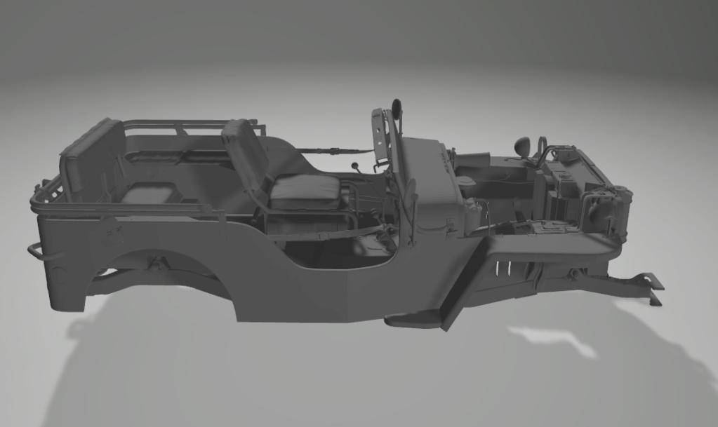 Jeep Willys en résine 3D au 1/24 et au 1/12 avec épave - Page 2 Captur15