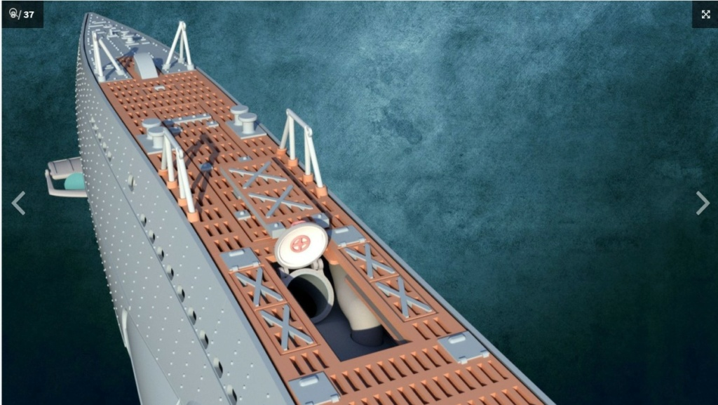 Sous-marin U-Boat VIID résine 3D au 1/100 Captur16