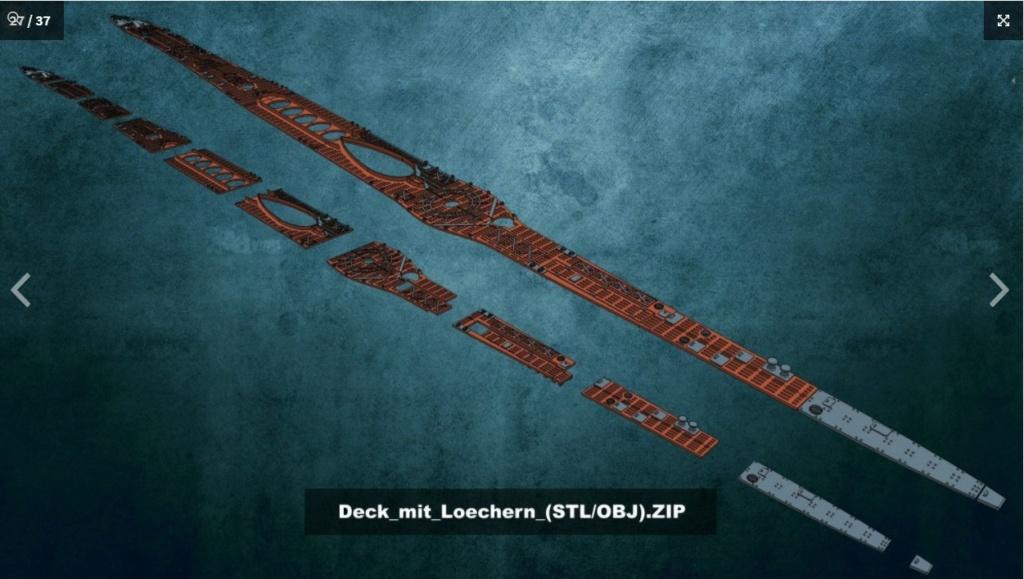 Sous-marin U-Boat VIID résine 3D au 1/100 Captur27