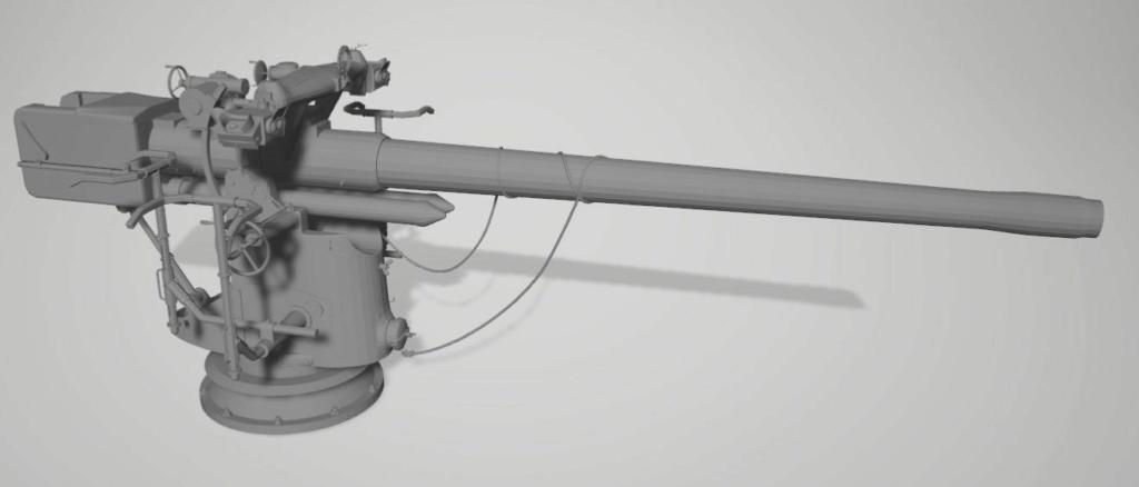 Sous-marin U-Boat VIID résine 3D au 1/100 Captur30