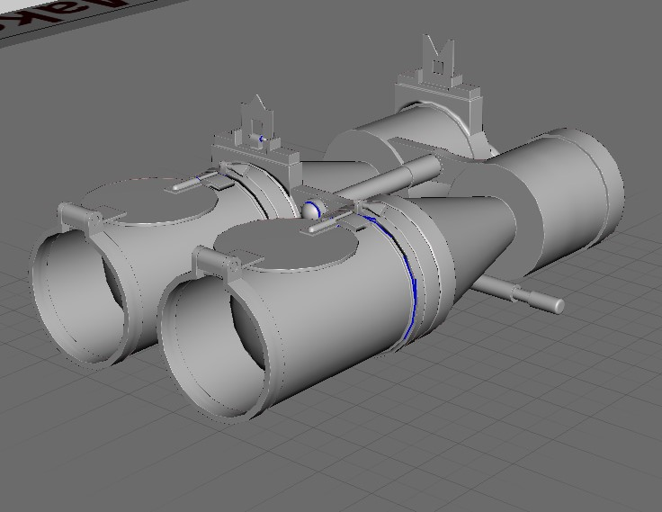 Sous-marin U-Boat VIID résine 3D au 1/100 Captur32