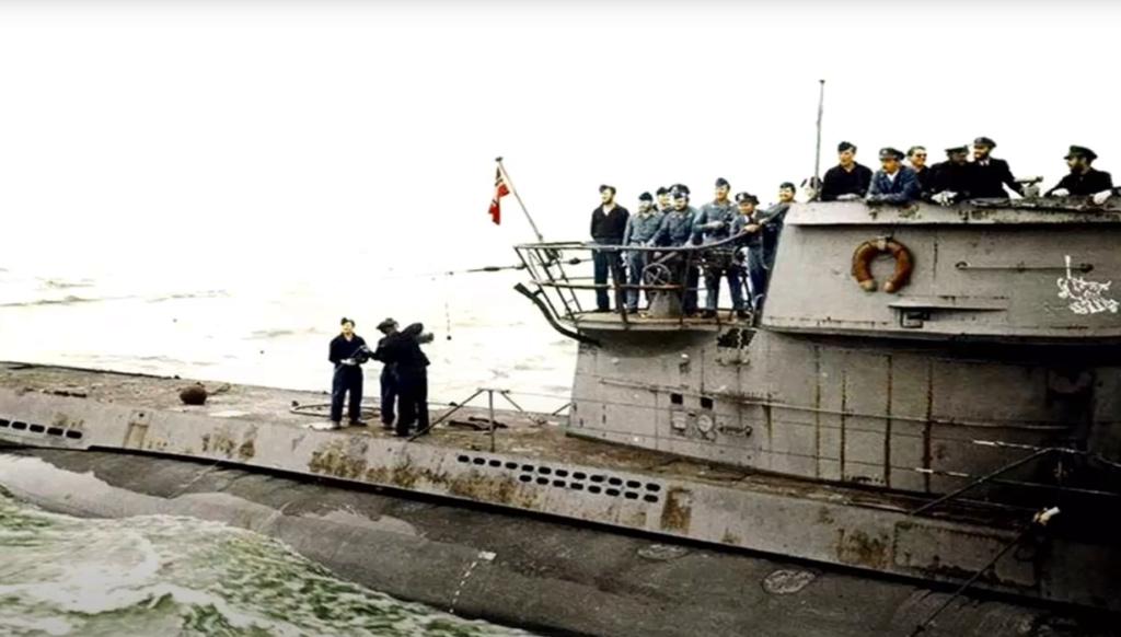 Sous-marin U-Boat VIID résine 3D au 1/100 - Page 6 Captur63