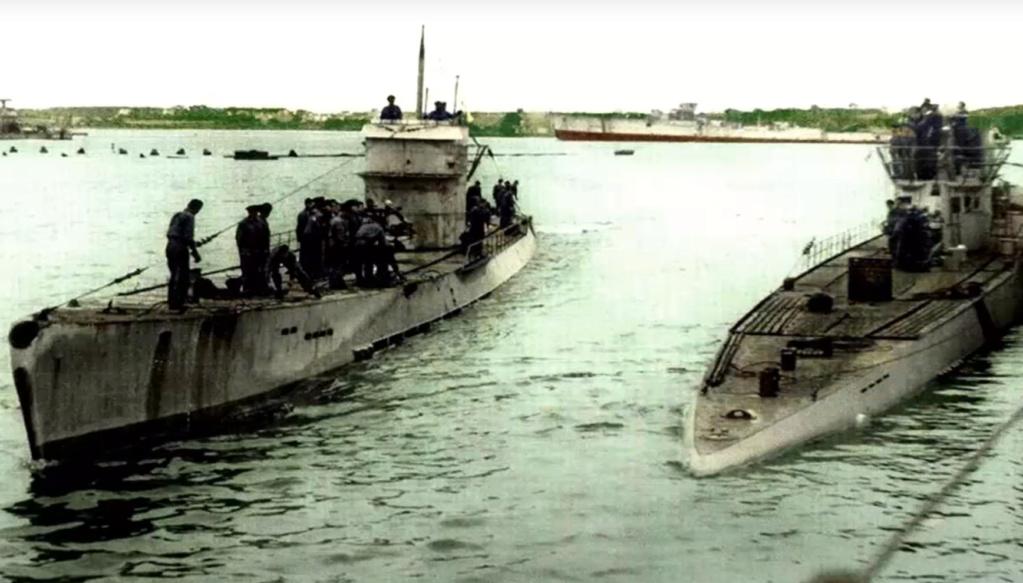 Sous-marin U-Boat VIID résine 3D au 1/100 - Page 6 Captur64