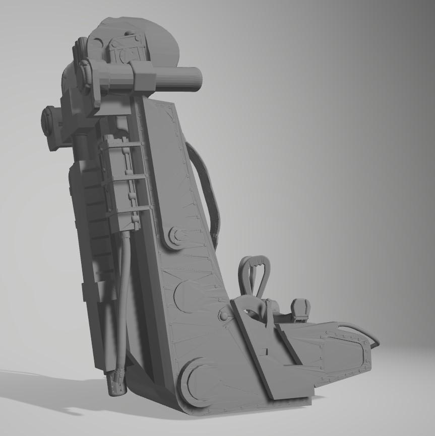 Siège éjectable soviétique K36 Captur65