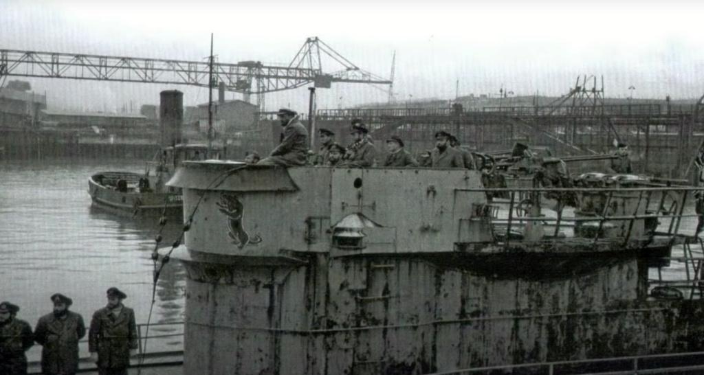 Sous-marin U-Boat VIID résine 3D au 1/100 - Page 6 Captur65