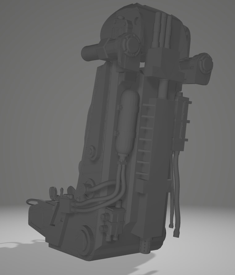 Siège éjectable soviétique K36 Captur66
