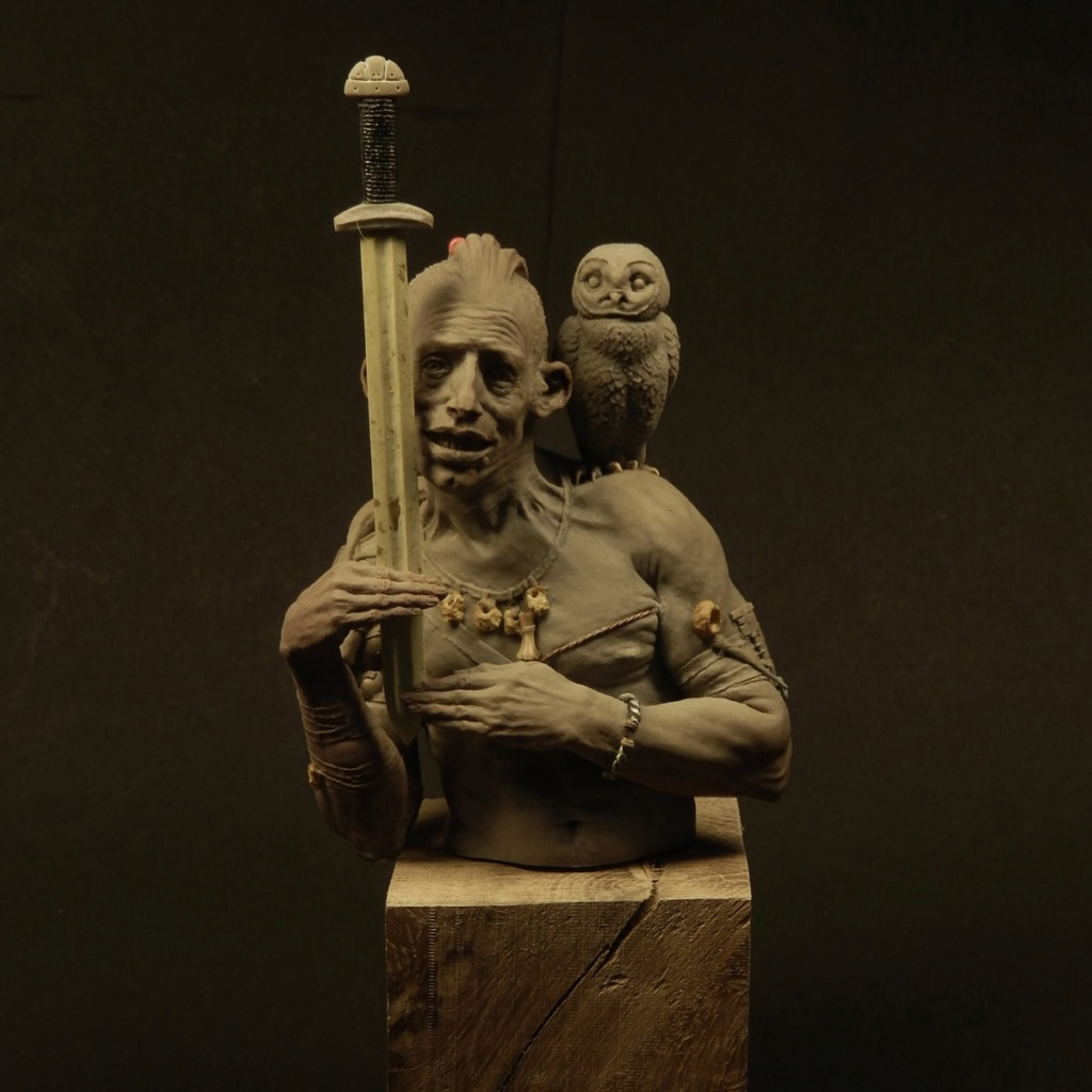 Un grand sculpteur   Romain Van den Bogaert Celtic10