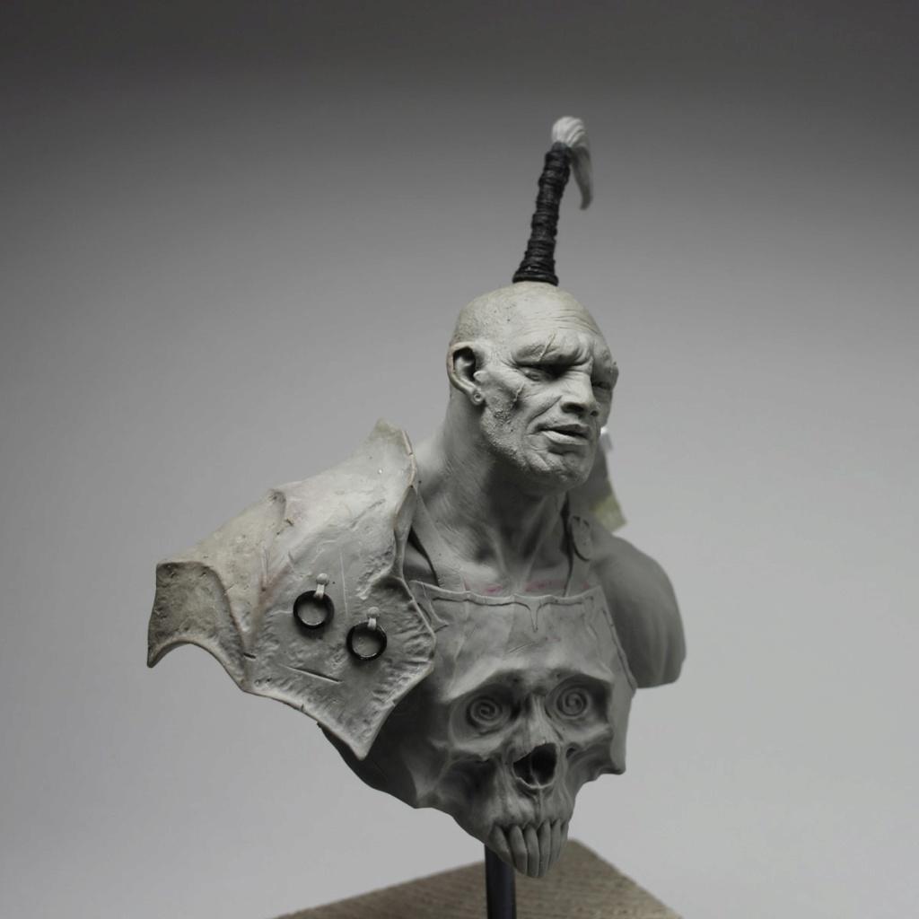 Un grand sculpteur   Romain Van den Bogaert Chaos-10