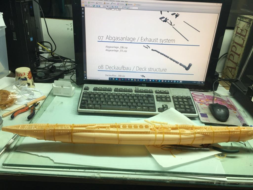 Sous-marin U-Boat VIID résine 3D au 1/100 - Page 2 E6b82f10