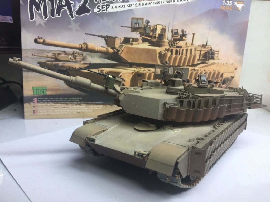M1A2 Abrams Tusk MENG 1/35 Termine - Page 3 Img_0078