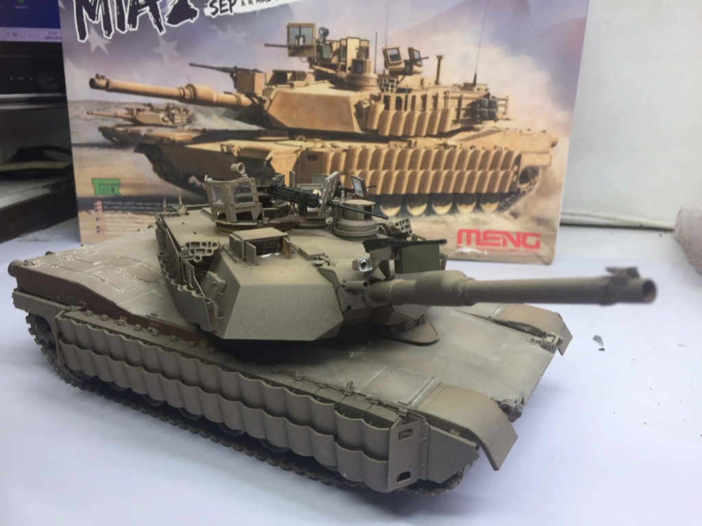 M1A2 Abrams Tusk MENG 1/35 Termine - Page 3 Img_0080