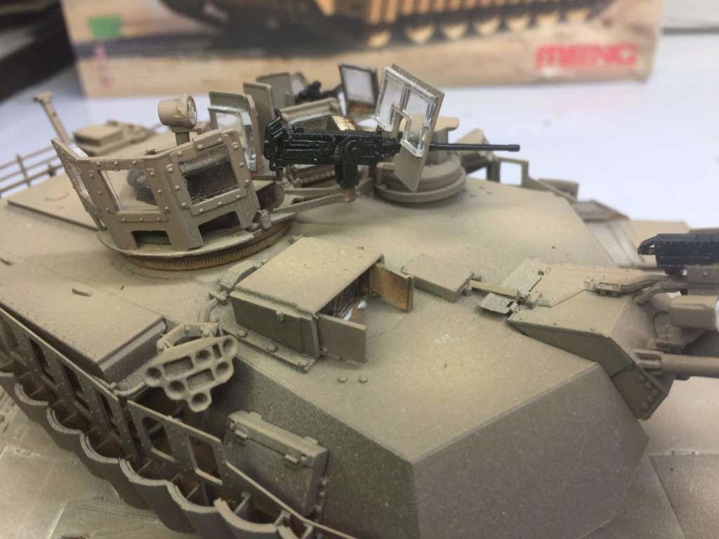 M1A2 Abrams Tusk MENG 1/35 Termine - Page 3 Img_0088