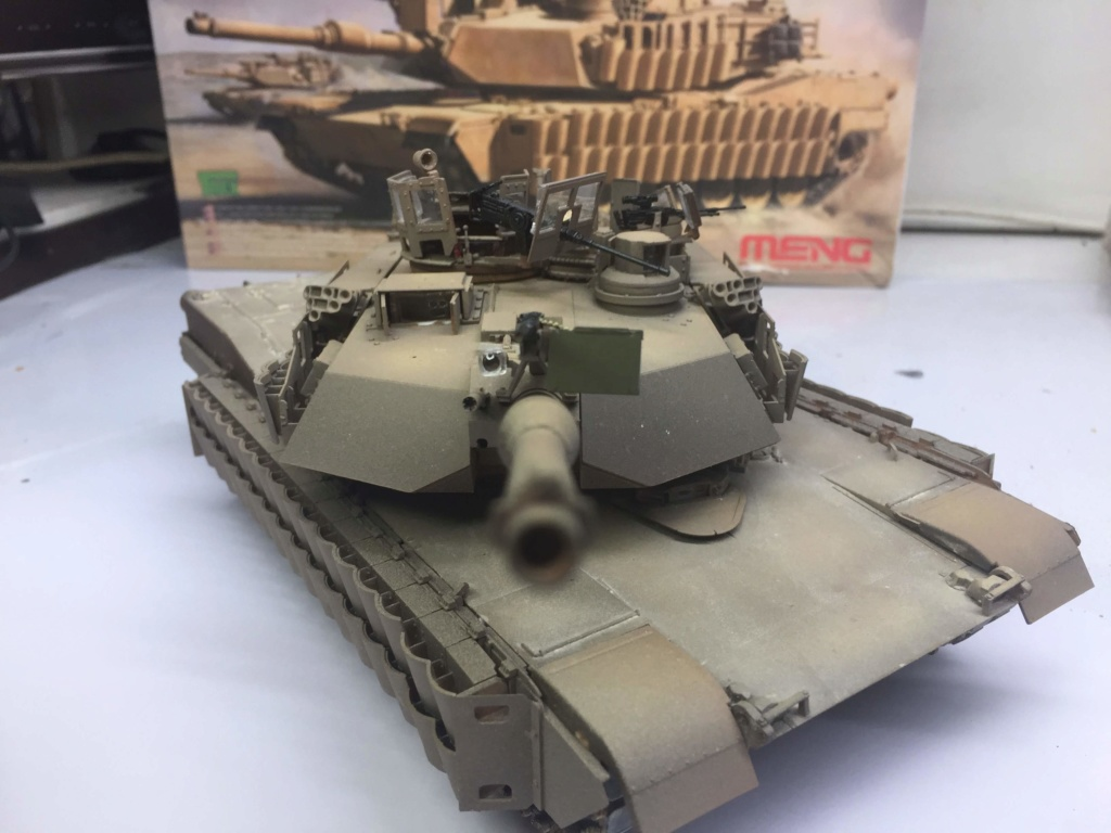 M1A2 Abrams Tusk MENG 1/35 Termine - Page 3 Img_0089