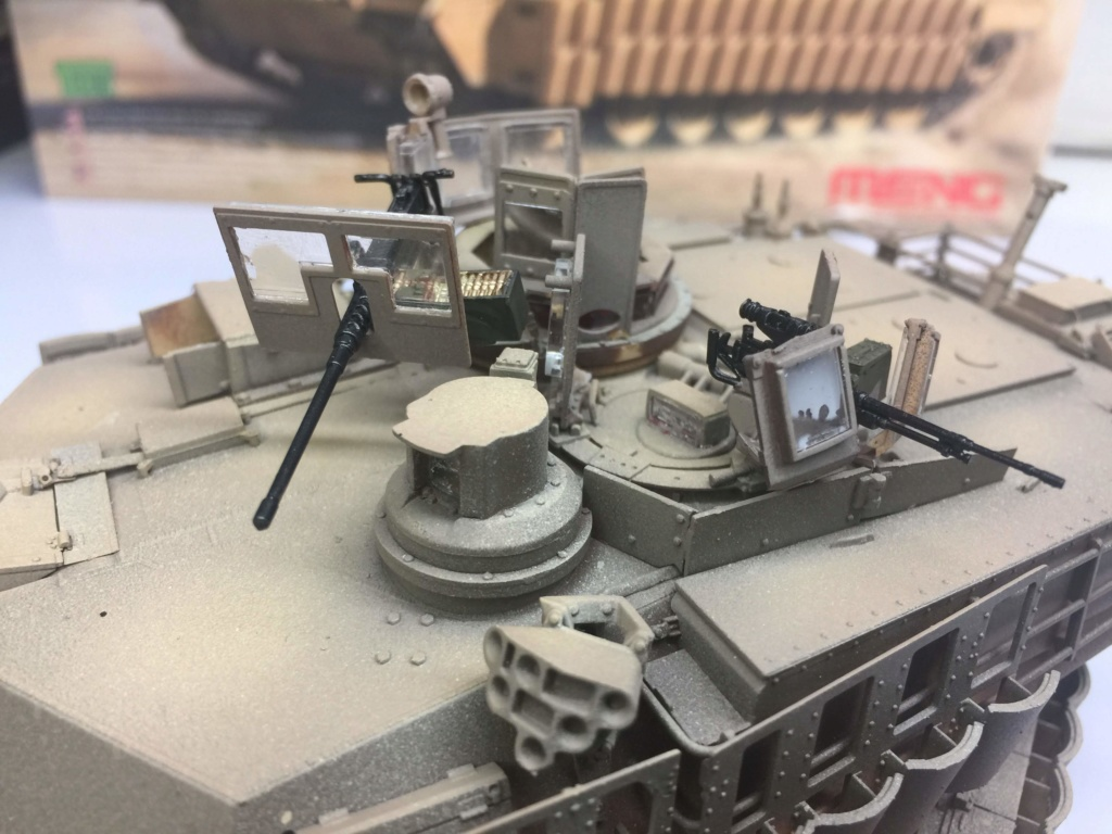 M1A2 Abrams Tusk MENG 1/35 Termine - Page 3 Img_0095