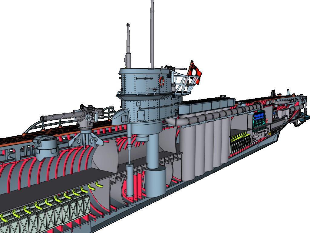 Sous-marin U-Boat VIID résine 3D au 1/100 - Page 6 Img_0110
