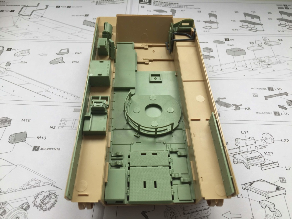 Bradley M2A3 with Busk III - Meng -1/35 TERMINE Img_0321