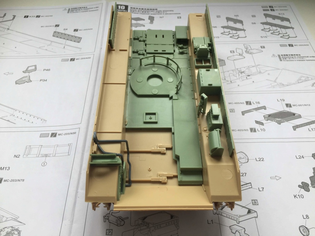 Bradley M2A3 with Busk III - Meng -1/35 TERMINE Img_0410