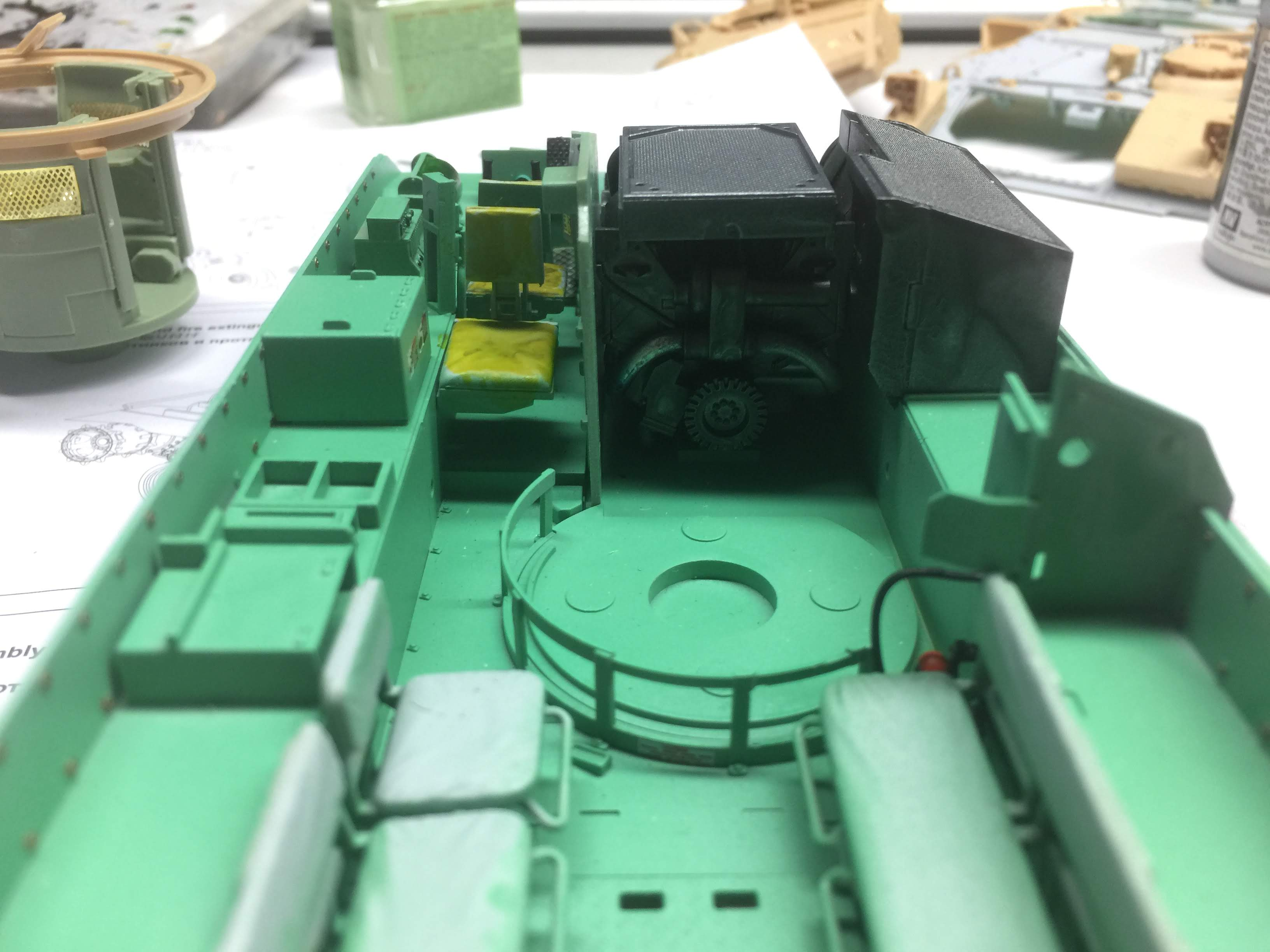 Bradley M2A3 with Busk III - Meng -1/35 TERMINE - Page 3 Img_1619
