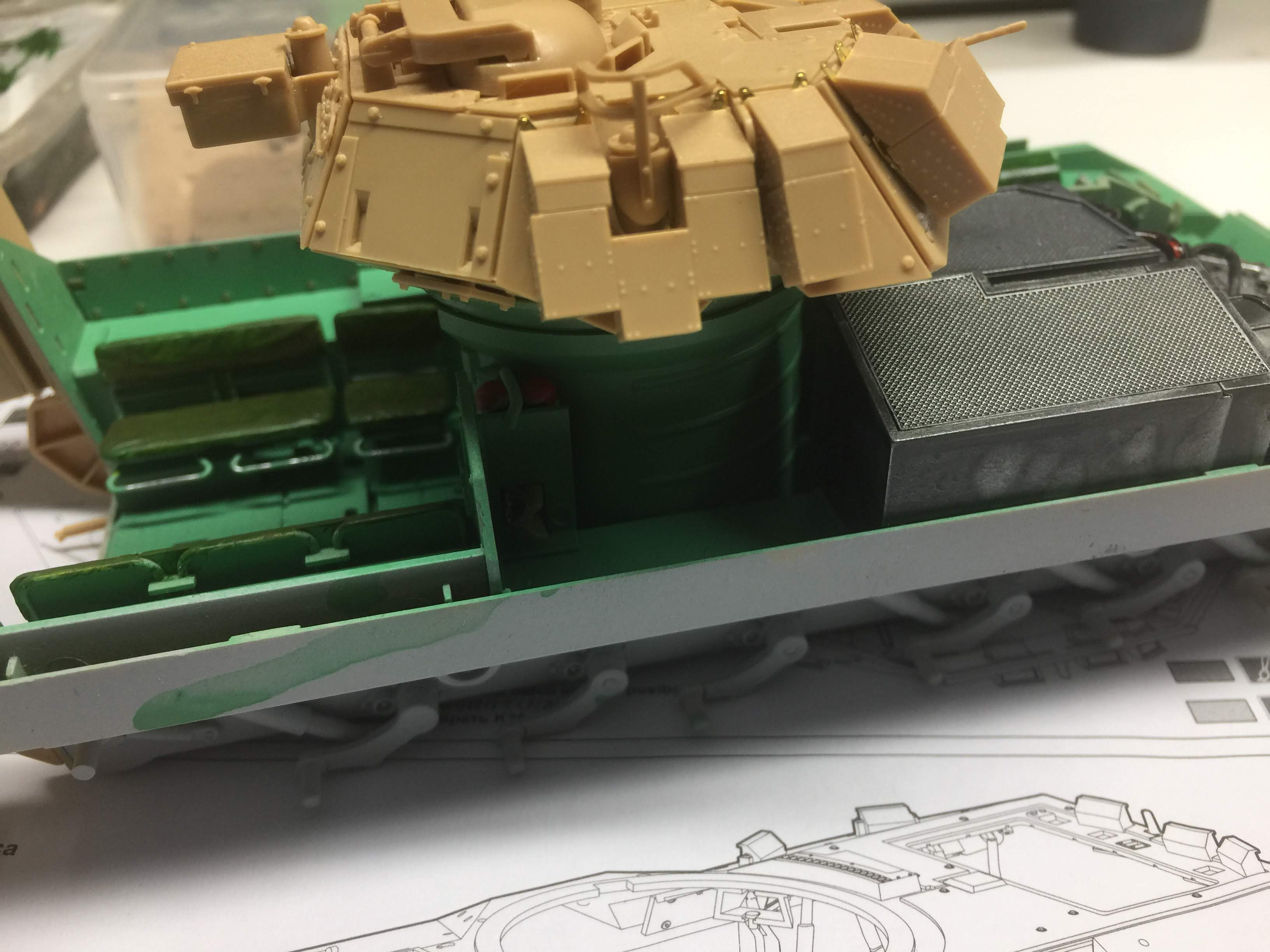 Bradley M2A3 with Busk III - Meng -1/35 TERMINE - Page 3 Img_1631