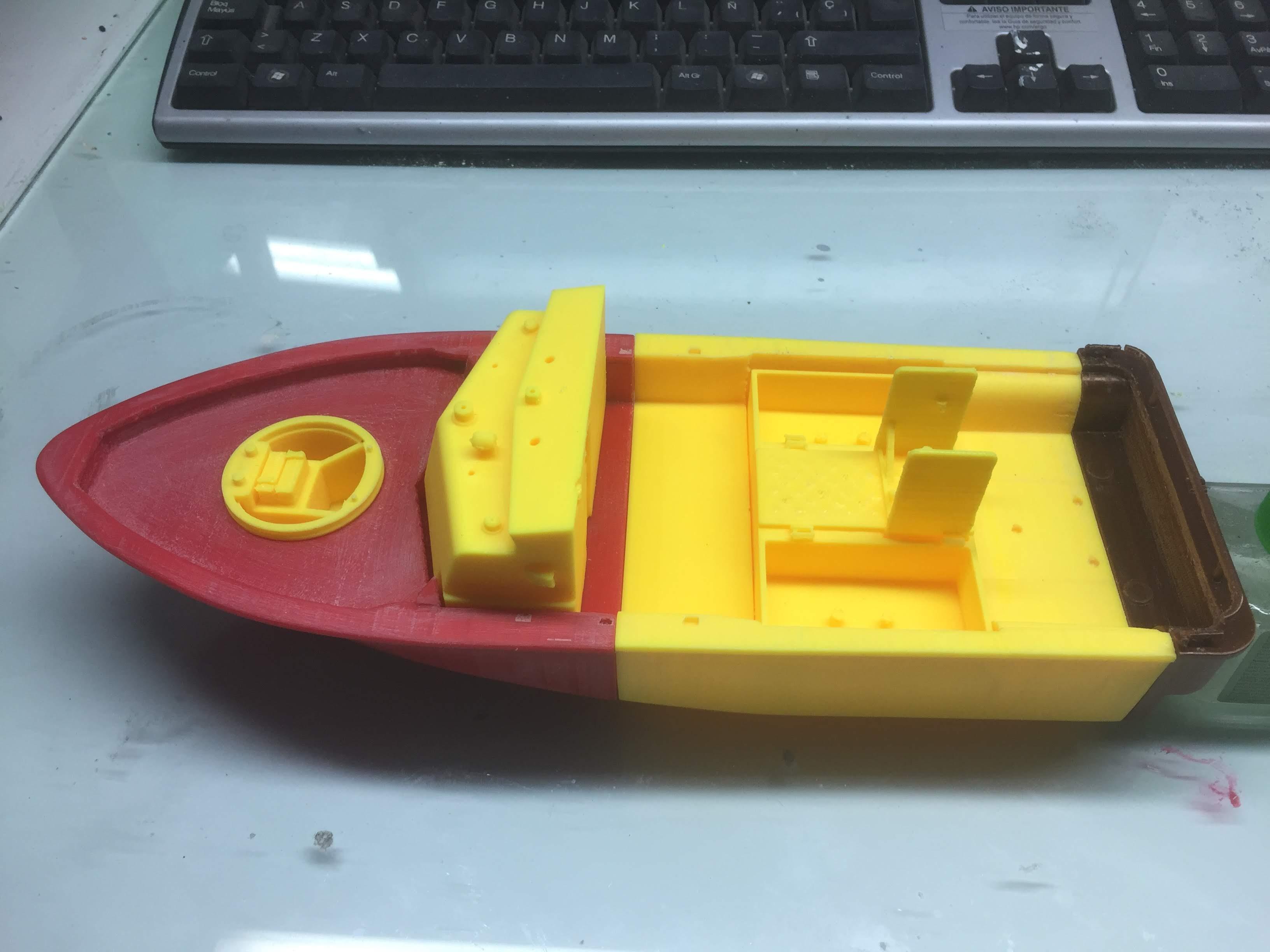 Patrouilleur fluvial  PBR MK2 1/35 - Impression 3D personnelle - Page 5 Img_1911