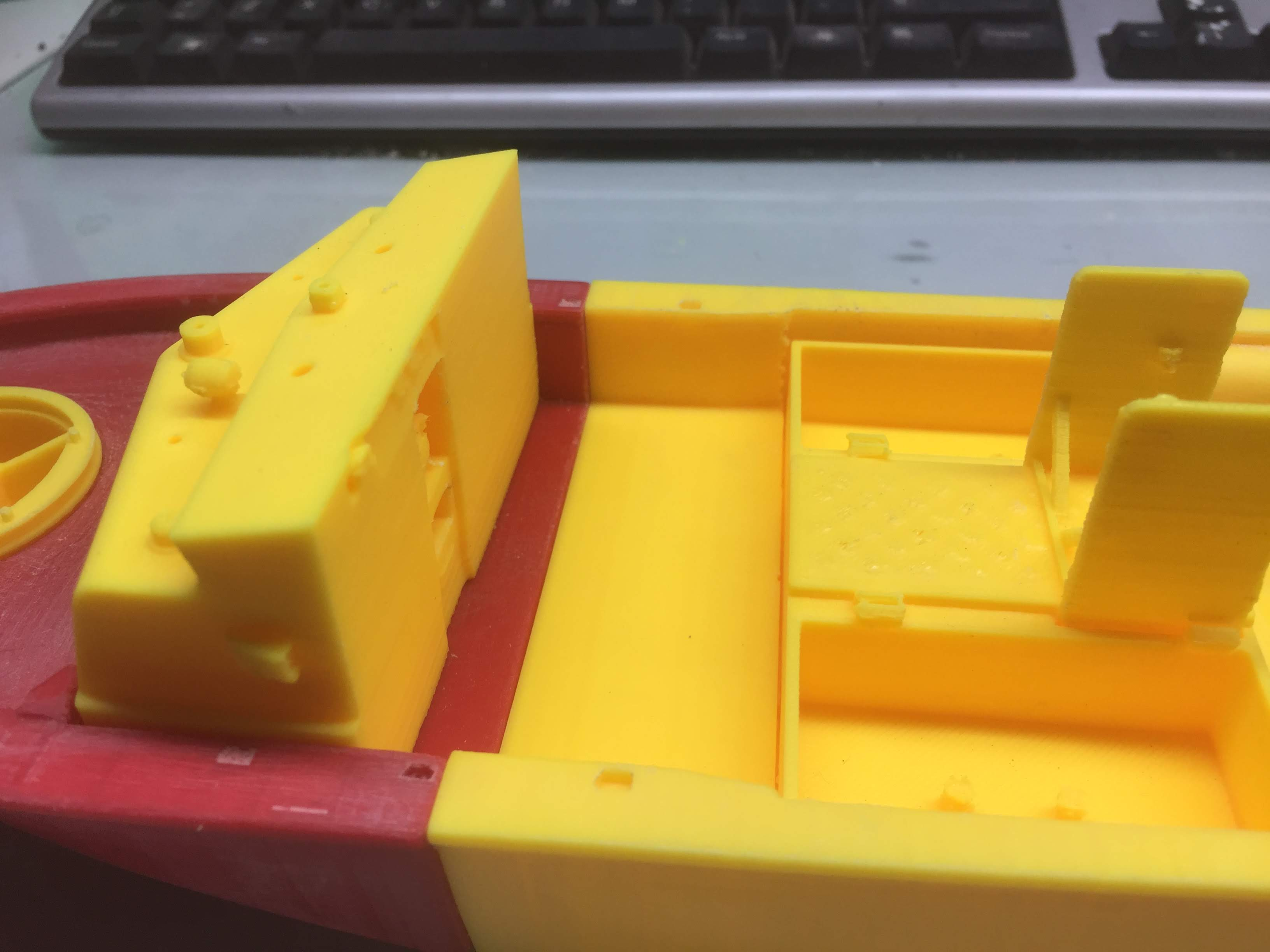 Patrouilleur fluvial  PBR MK2 1/35 - Impression 3D personnelle - Page 5 Img_1916