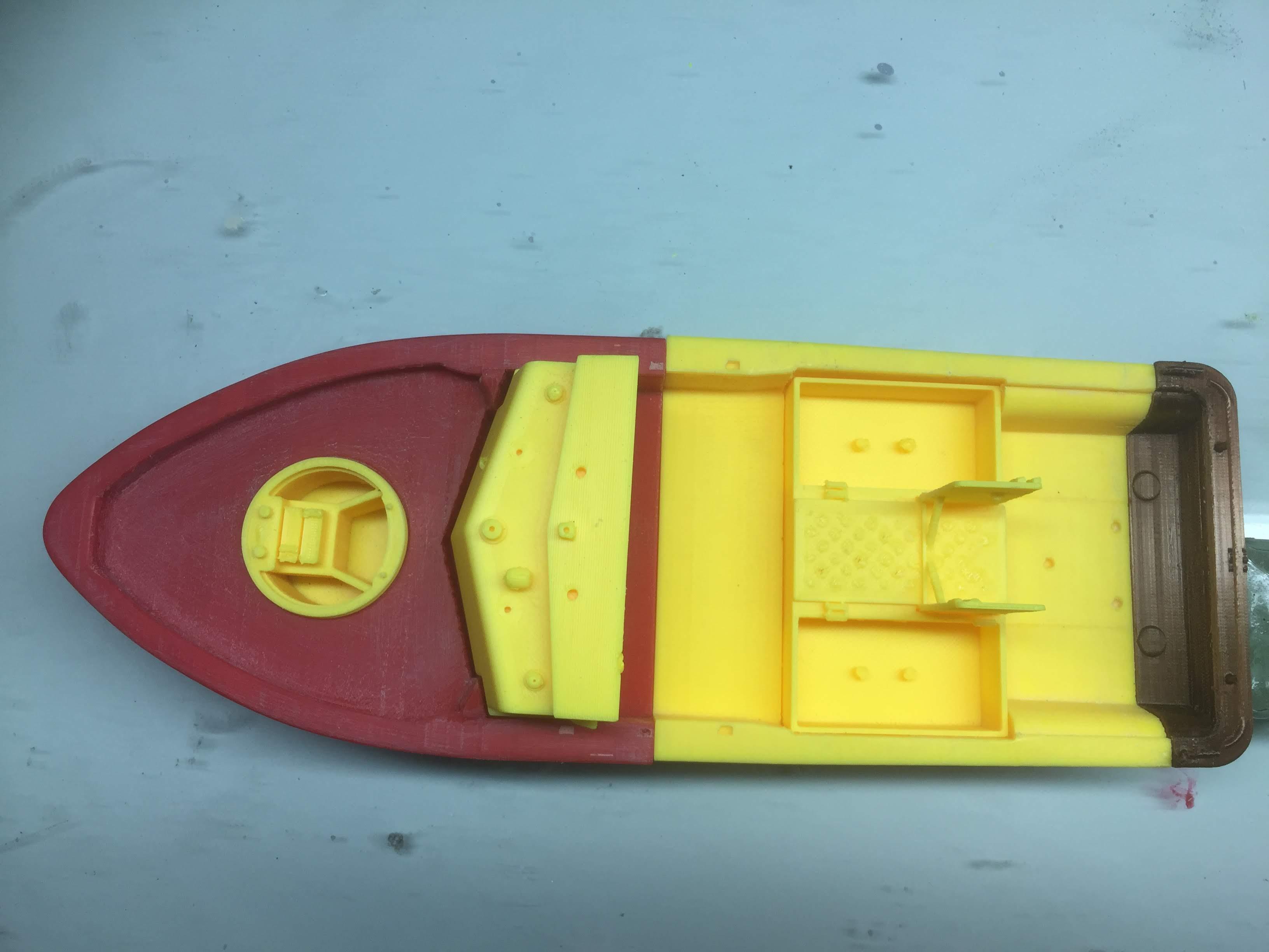 Patrouilleur fluvial  PBR MK2 1/35 - Impression 3D personnelle - Page 5 Img_1917