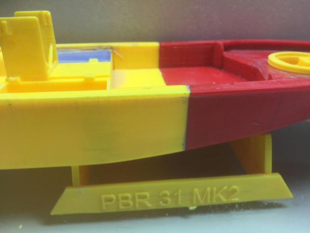 Patrouilleur fluvial  PBR MK2 1/35 - Impression 3D personnelle - Page 6 Img_2070