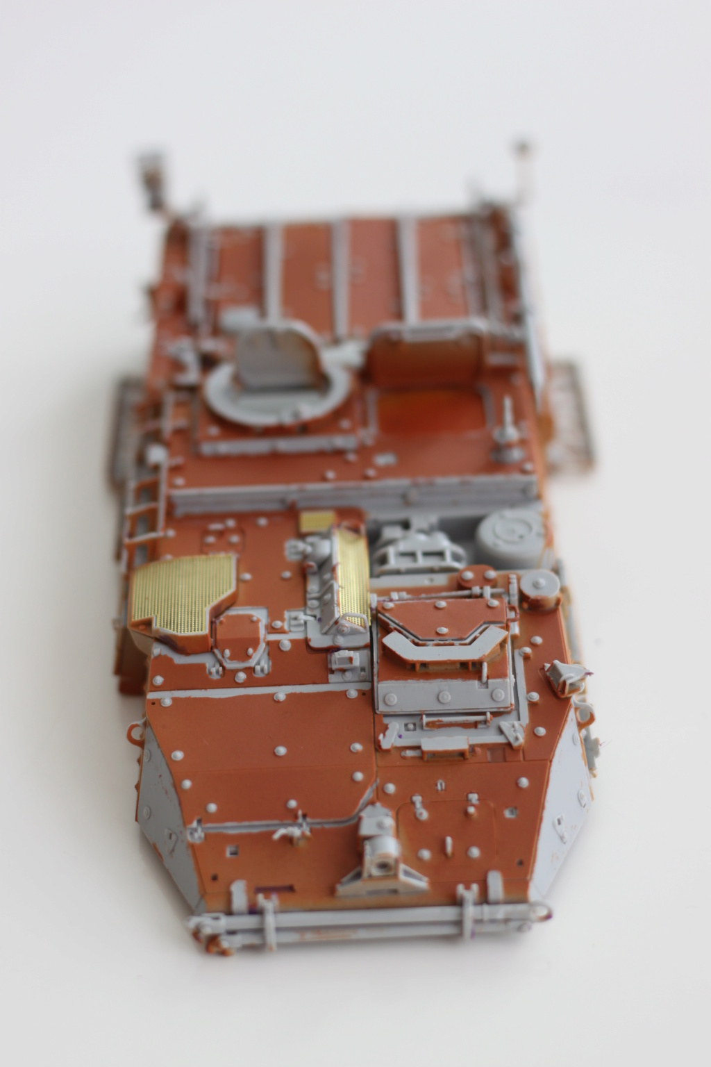 M1129 Stryker Mortar Carrier Vehicle MC-B Tumpeter 1/35 Img_3843