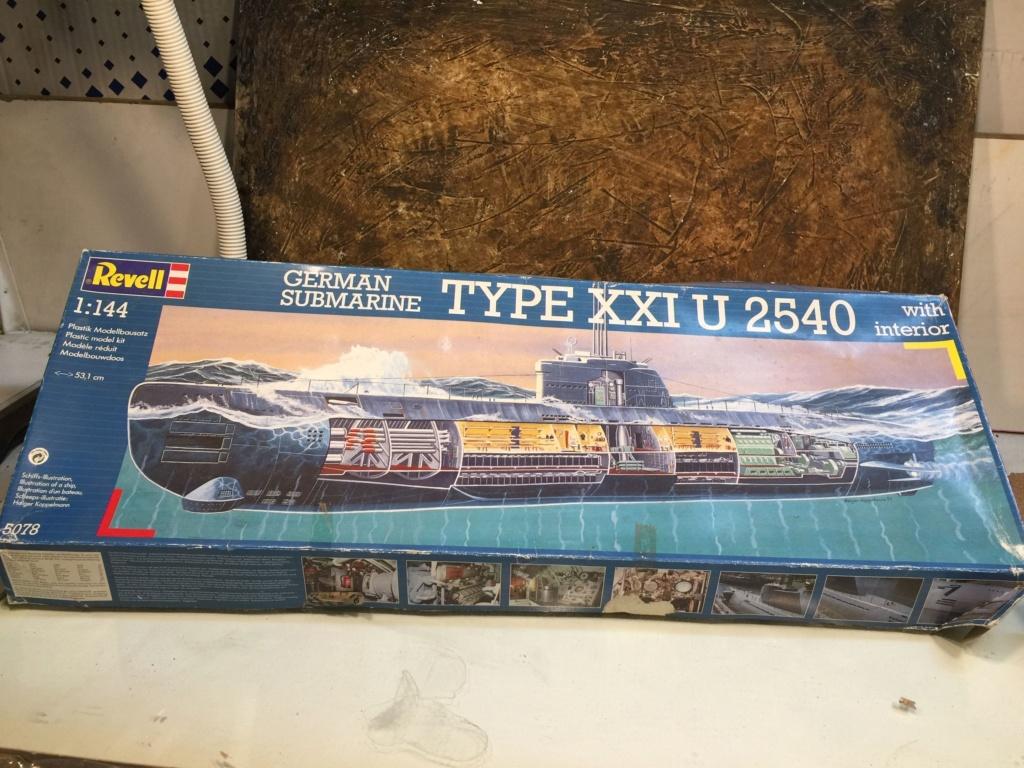 German submarine Type XXI U 2540 - 1/144 Revell Img_4610