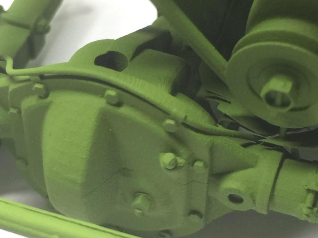 Jeep Willys en résine 3D au 1/24 et au 1/12 avec épave - Page 5 Img_4861