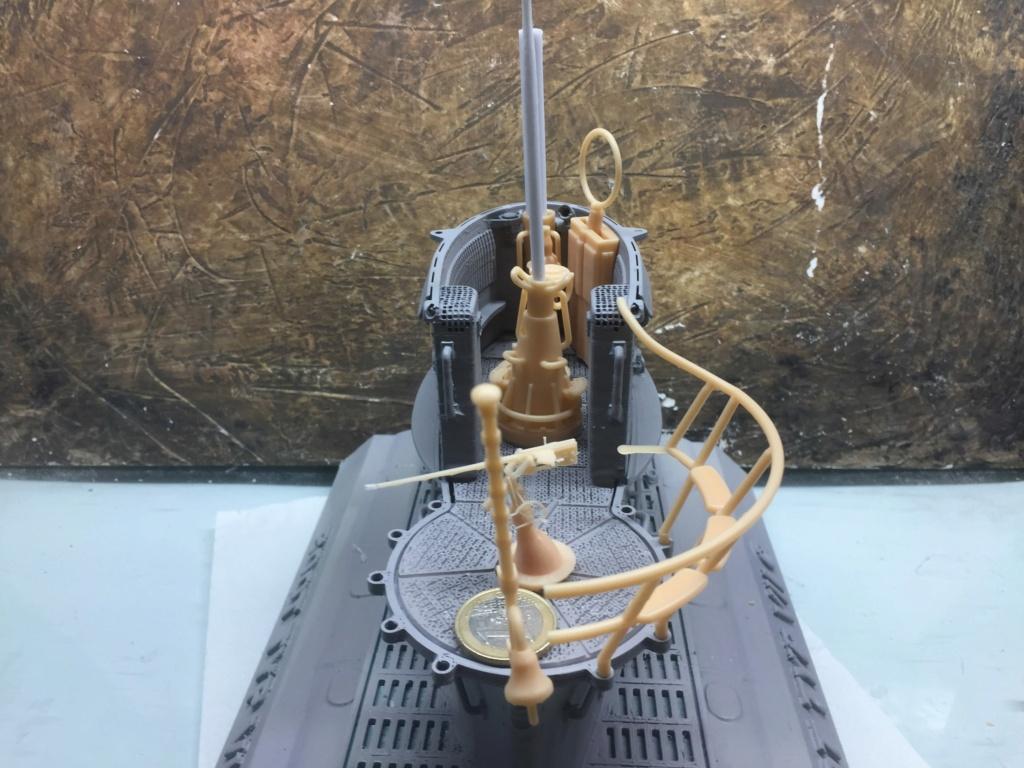 Sous-marin U-Boat VIID résine 3D au 1/100 - Page 4 Img_5242