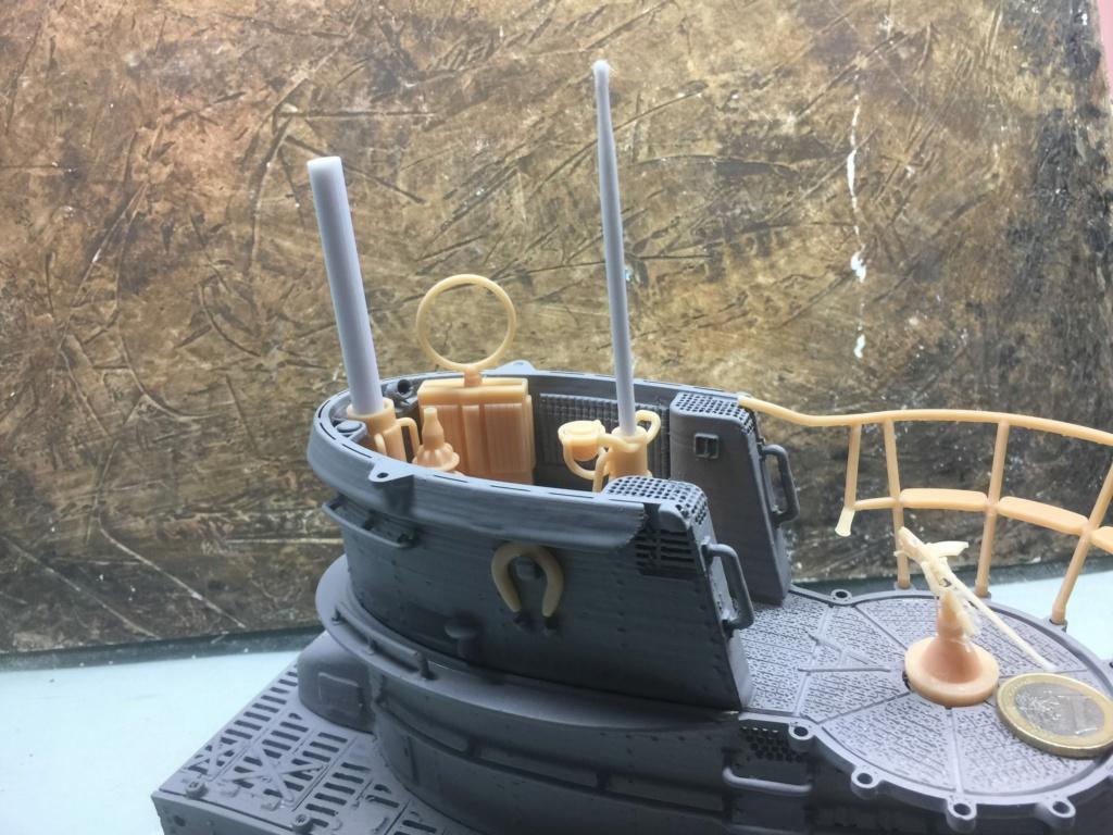 Sous-marin U-Boat VIID résine 3D au 1/100 - Page 4 Img_5246