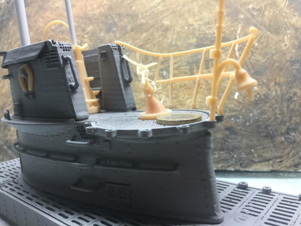 Sous-marin U-Boat VIID résine 3D au 1/100 - Page 4 Img_5249