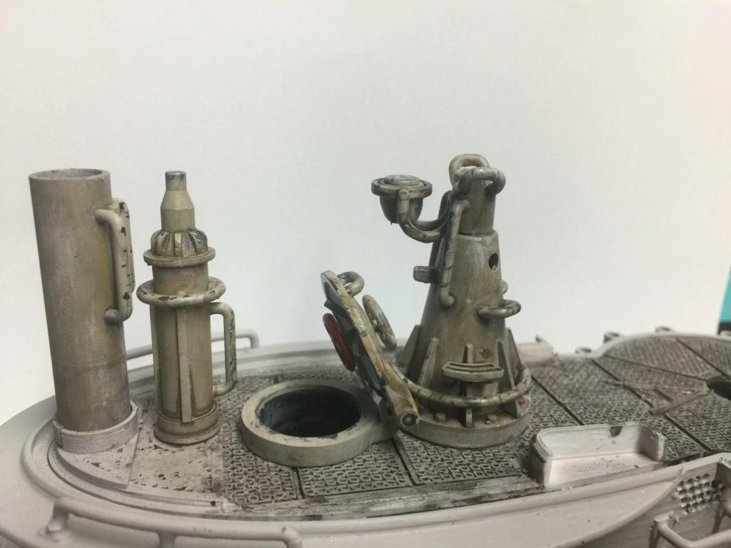 Sous-marin U-Boat VIID résine 3D au 1/100 - Page 4 Img_5251