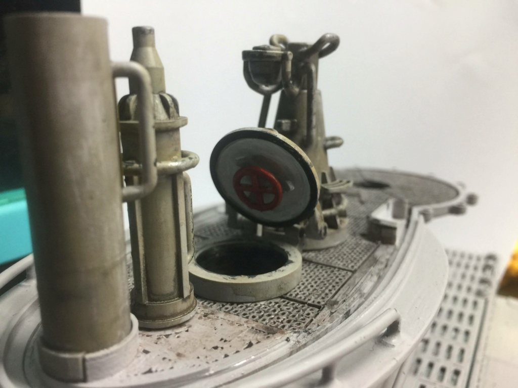 Sous-marin U-Boat VIID résine 3D au 1/100 - Page 4 Img_5252