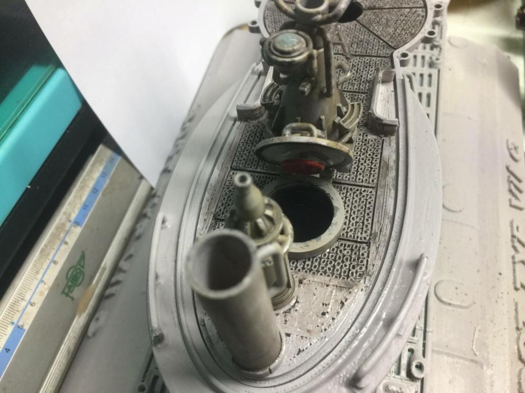 Sous-marin U-Boat VIID résine 3D au 1/100 - Page 4 Img_5254