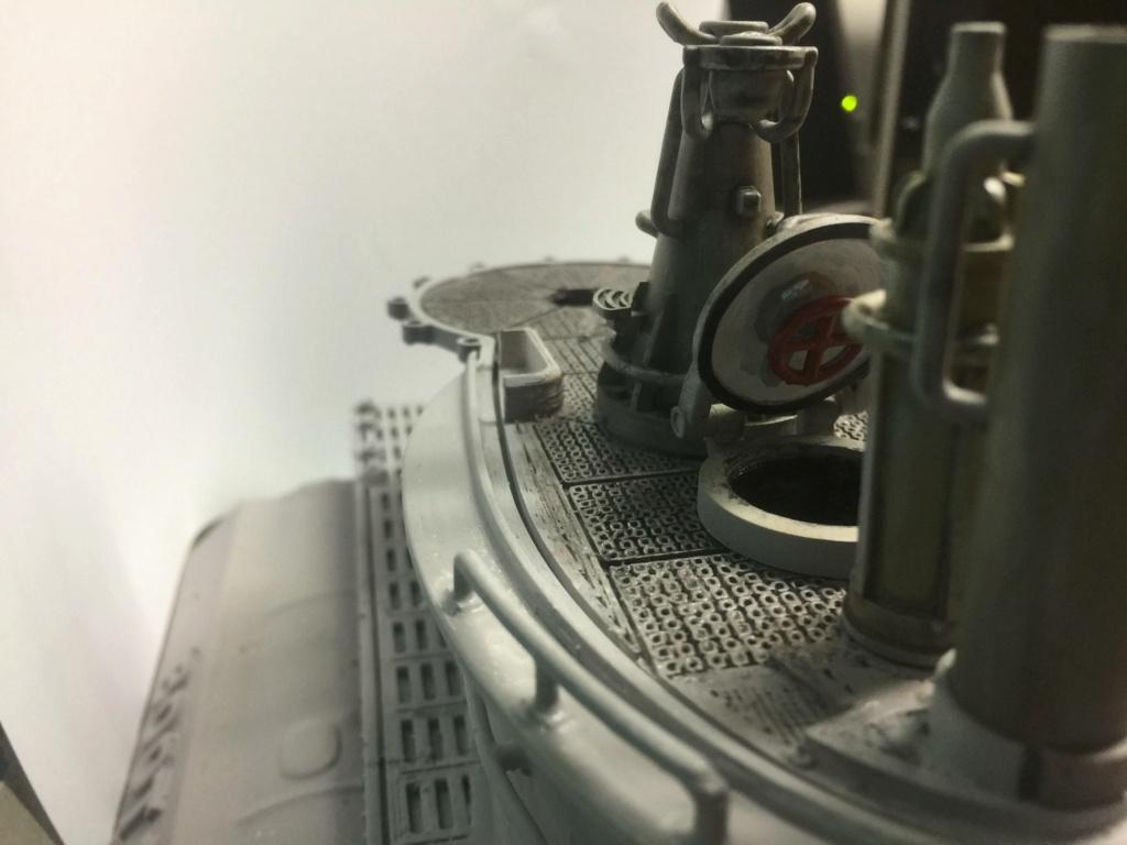 Sous-marin U-Boat VIID résine 3D au 1/100 - Page 4 Img_5255