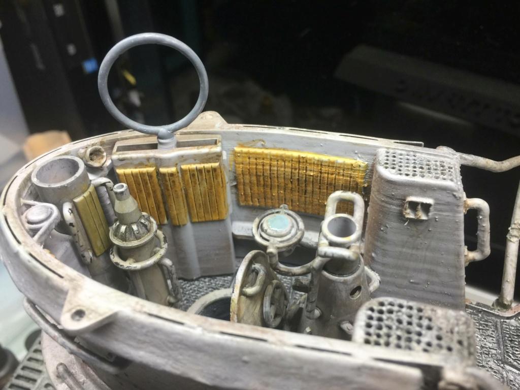 Sous-marin U-Boat VIID résine 3D au 1/100 - Page 5 Img_5426