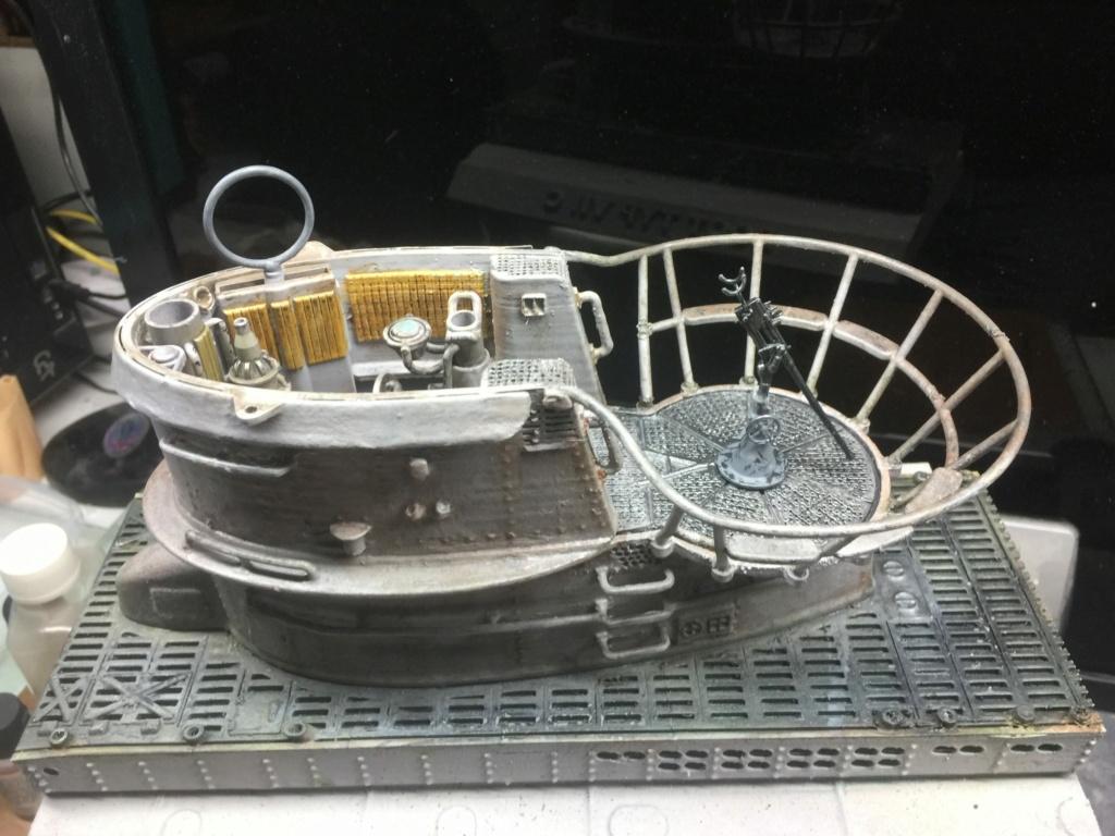 Sous-marin U-Boat VIID résine 3D au 1/100 - Page 5 Img_5427