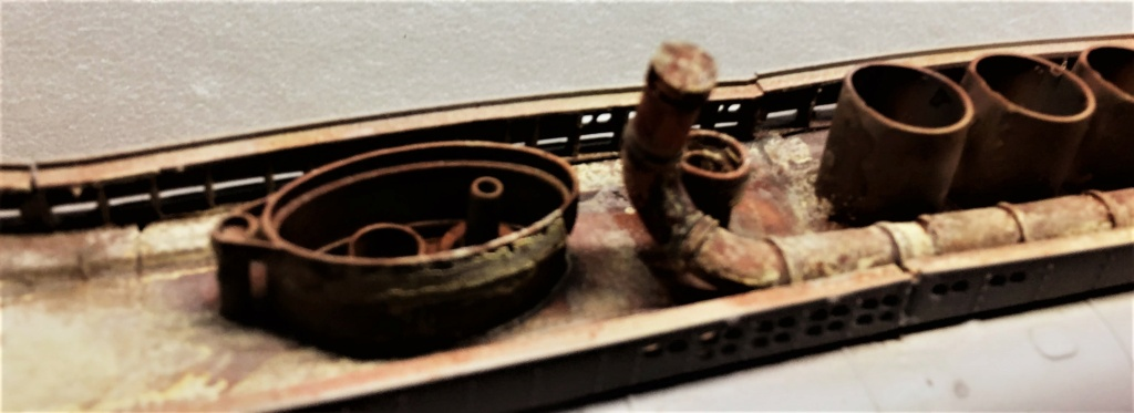 Sous-marin U-Boat VIID résine 3D au 1/100 - Page 6 Img_5562