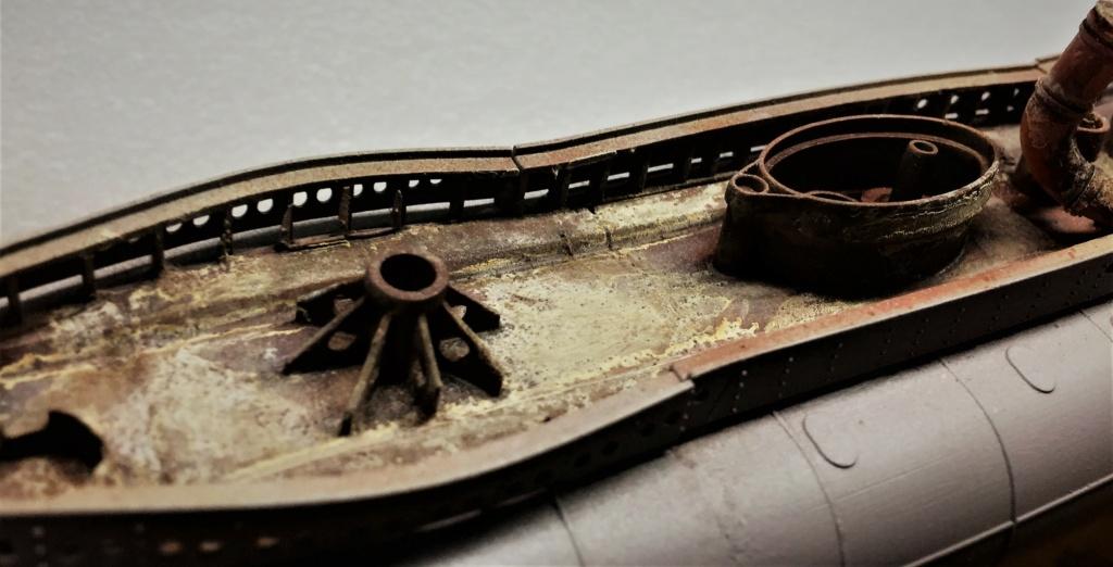 Sous-marin U-Boat VIID résine 3D au 1/100 - Page 6 Img_5563