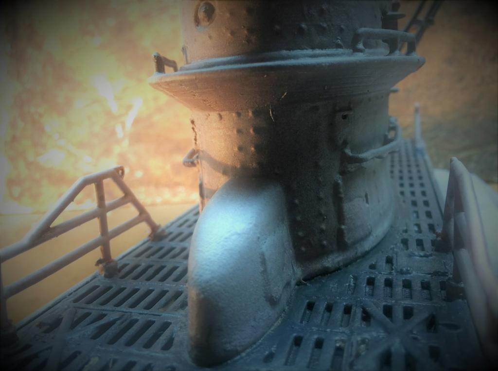 Sous-marin U-Boat VIID résine 3D au 1/100 - Page 6 Img_5571