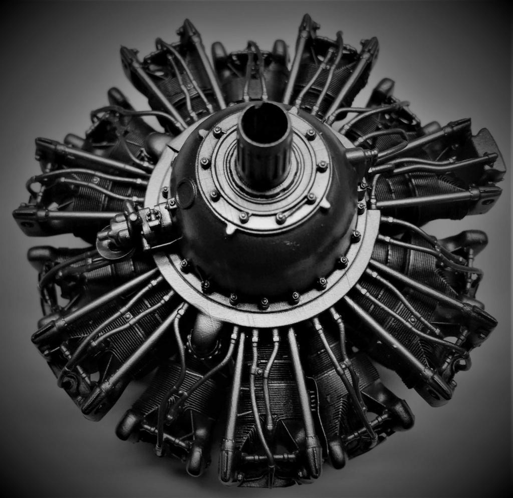 Pratt and Whitney R1830  Lockheed Hudson  1/18 1/35  1/48 Img_5735