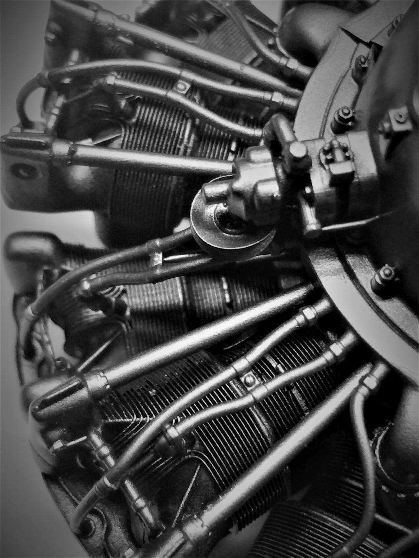 Pratt and Whitney R1830  Lockheed Hudson  1/18 1/35  1/48 Img_5737