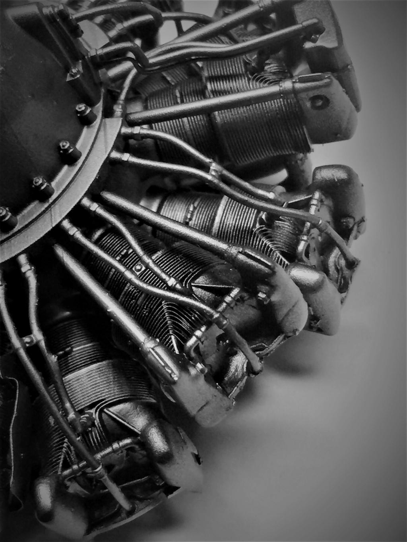 Pratt and Whitney R1830  Lockheed Hudson  1/18 1/35  1/48 Img_5738