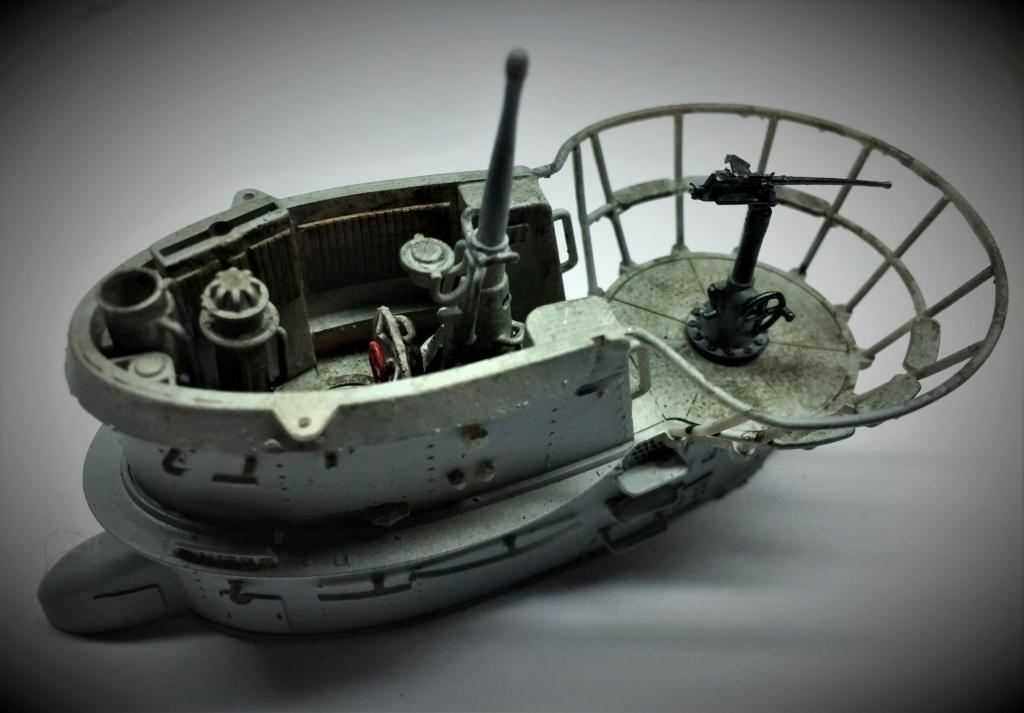 Sous-marin U-Boat VIID résine 3D au 1/100 - Page 8 Img_5748