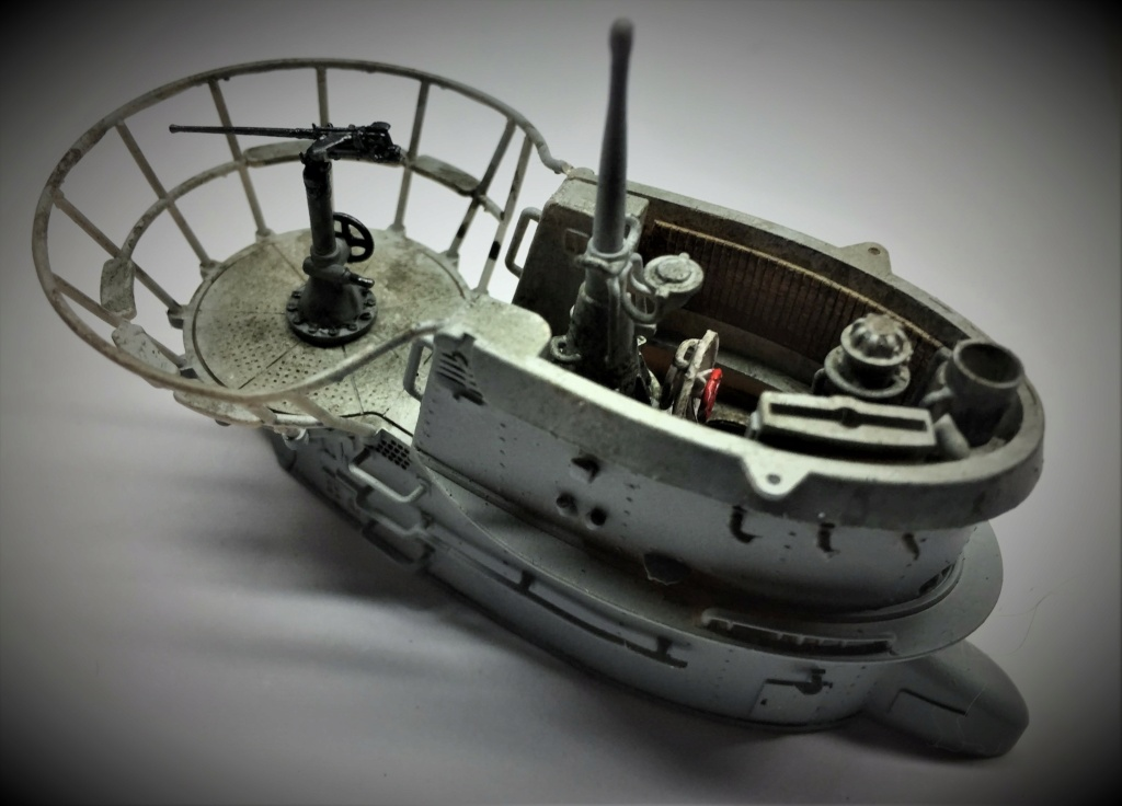 Sous-marin U-Boat VIID résine 3D au 1/100 - Page 8 Img_5749