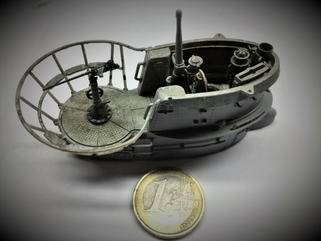 Sous-marin U-Boat VIID résine 3D au 1/100 - Page 8 Img_5751