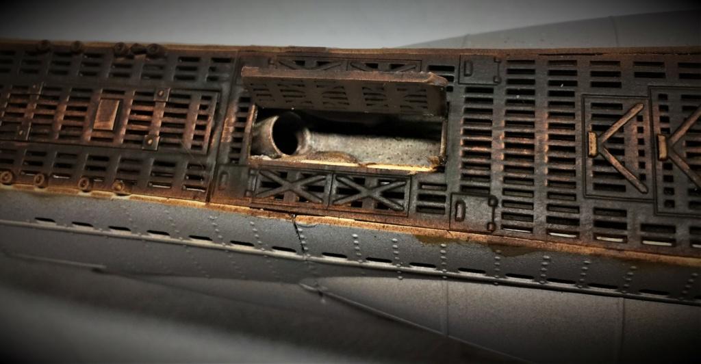 Sous-marin U-Boat VIID résine 3D au 1/100 - Page 9 Img_5831